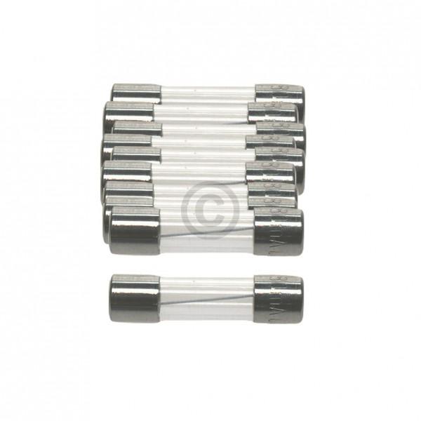 Europart DIN-Sicherung 5,0A träge 5x20mm Feinsicherung 10Stk