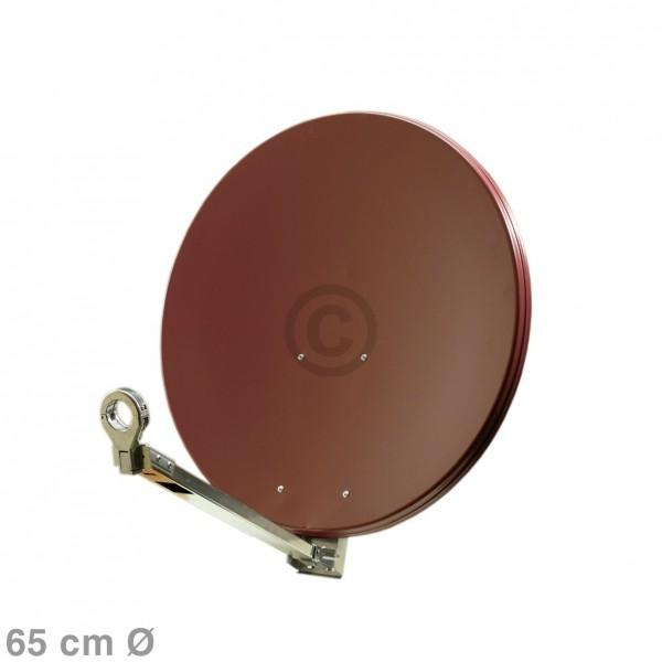 Europart SAT-Antenne 65 cm ziegelrot