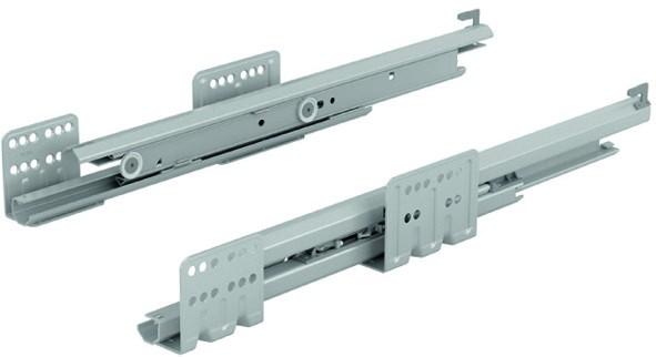 Hettich Vollauszüge Actro Silent 19mm NL 270mm 10kg li / re Push to open