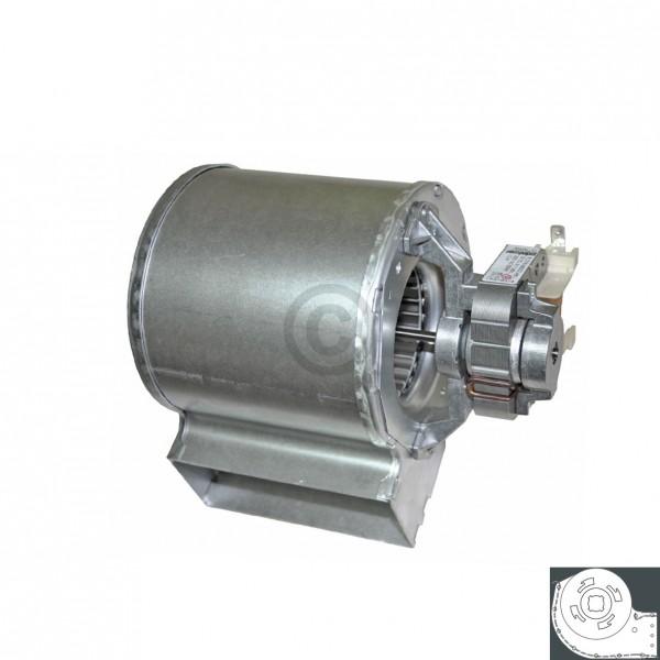Europart Querstromlüfter 105mm TypA Motor rechts