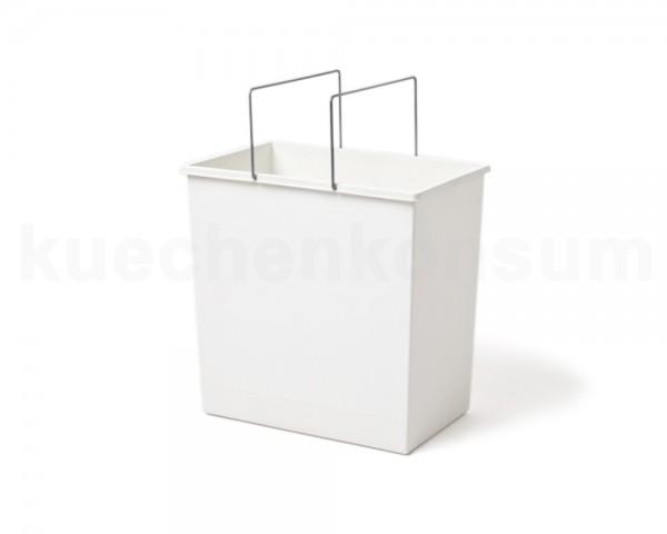 Hailo Inneneimer 1045129 weiß 24 Liter 345 x 220 x 350 mm 2 Henkel