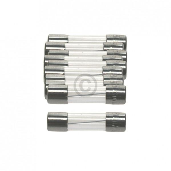 Europart DIN-Sicherung 0,5A träge 5x20mm Feinsicherung 10Stk