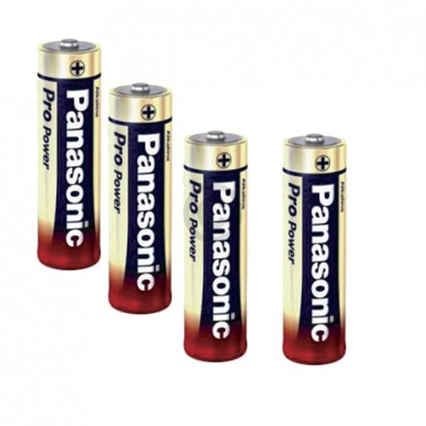 Europart Batterie Mignon Panasonic LR06PPG Alkali 4Stk