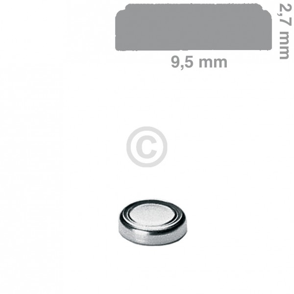 Europart Knopfzelle SR927EL Panasonic