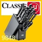 Wüsthof CLASSIC Messerblock Buche Anthrazit mit Teilen 9848