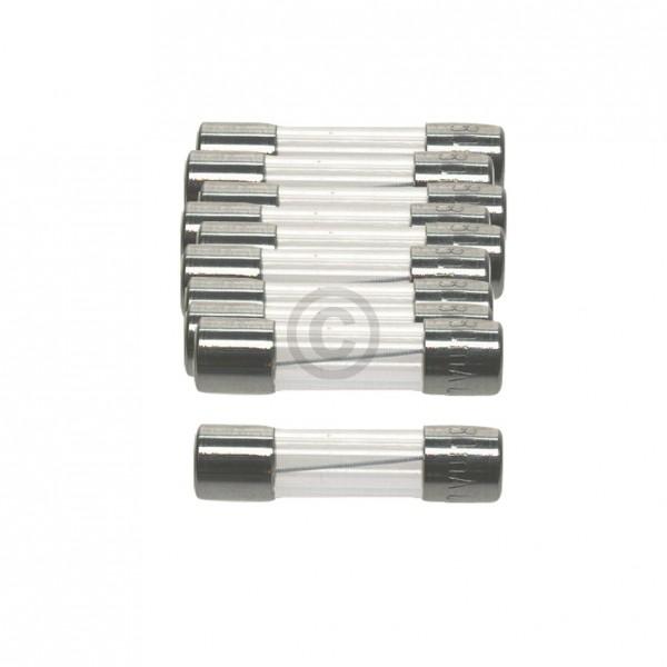 Europart DIN-Sicherung 1,6A träge 5x20mm Feinsicherung 10Stk