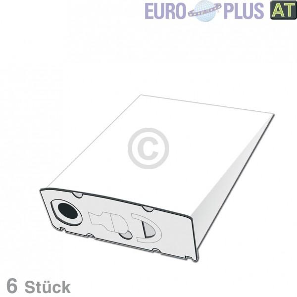 Europart Filterbeutel Europlus VO1130 u.a. für Vorwerk Kobold VK 6 Stk