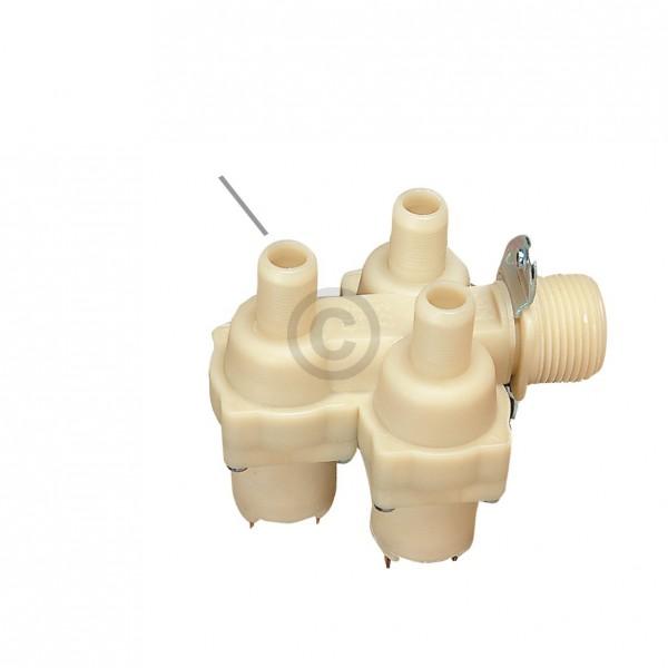 Europart Magnetventil wie Bosch 00084678 3-fach 90° 14,0 mm mit Reduzierung für Waschmaschine