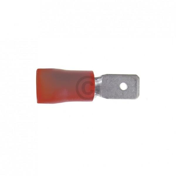 Europart Flachstecker rot 4,8mm