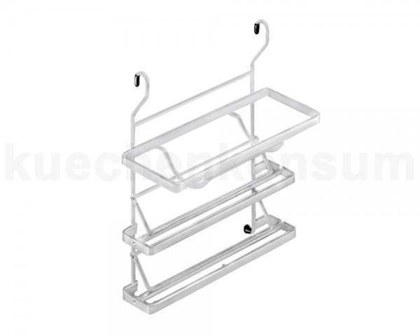 Linero Classic Rollenhalter 3-etagig matt-verchromt 325 x 155 x 365 mm
