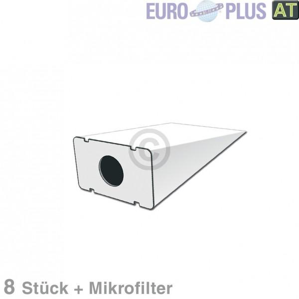 Europart Filterbeutel Europlus S4017 u.a. für Siemens, Bosch 8 Stk