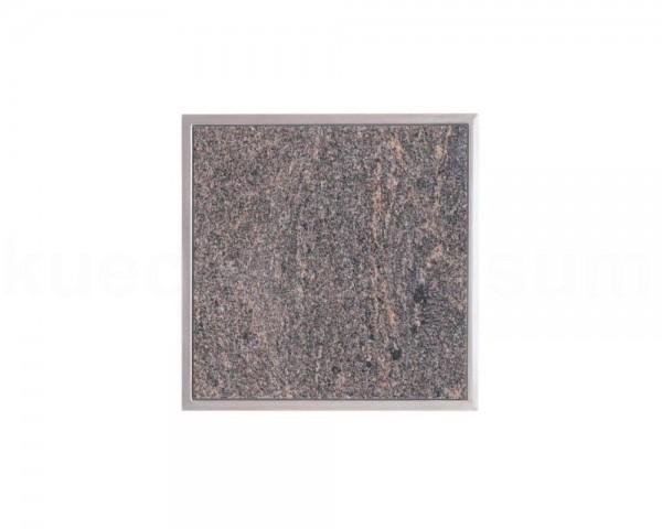 Einbau Granitfeld Paradiso inkl. Edelstahlwanne 250 x 250 x 10 mm