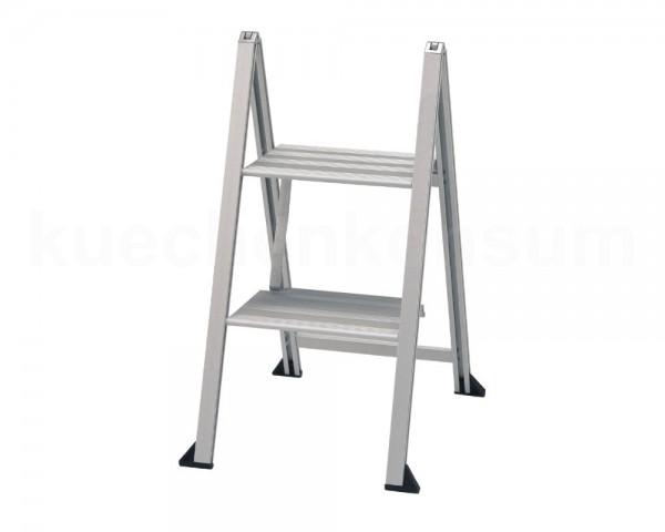 VIKINGSTEP Mini S Leiter 660 mm Aluminium wibe Ladders