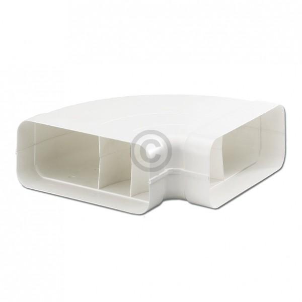 Europart Flachkanalbogen 150erSCF Naber 4043003 90° horizontal beidseitig Muffe für 222x89mm Belüftu
