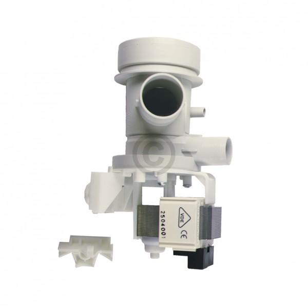 AEG Ablaufpumpe 899645430780/3 HANNING mit Pumpenkopf und Sieb für Waschmaschine