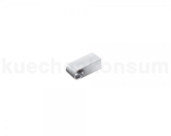 Linero Classic Halter für 16er Relingrohr matt-verchromt 50 mm