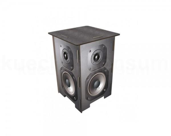 Werkhaus Photohocker SH8121 Lautsprecherbox 295 x 295 x 420 mm