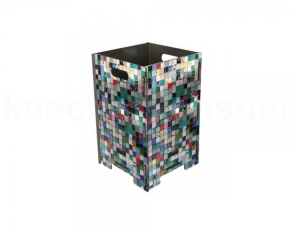 Werkhaus Papierkorb PP9037 gross Mosaik 260 x 260 x 410 mm