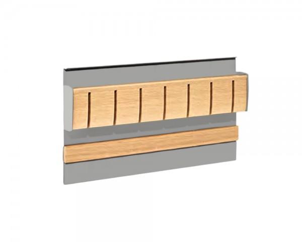 Linero MosaiQ Magnet-Messerhalter Dekor Eiche 350 x 45 x 200 mm