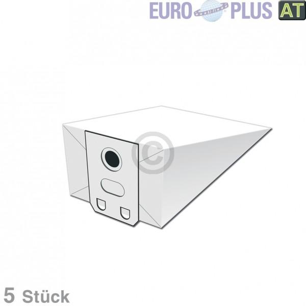 Europart Filterbeutel Europlus V2503 u.a. für Electrolux, Volta 5 Stk