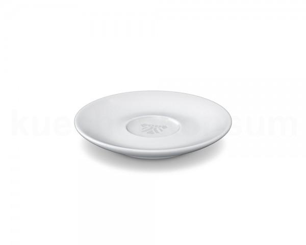 TV Tasse Unterteller 61 für Espressotasse 12cm rund weiß