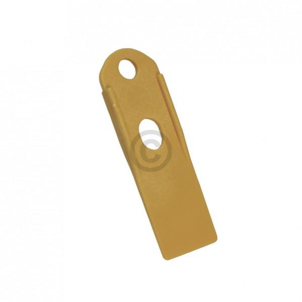 Miele Deckelöffner 5012752 Abstreifer Kunststoff gelb für Waschmaschine Waschschleuderautomat Dampfg