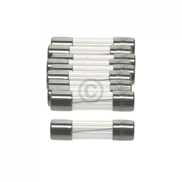 Europart DIN-Sicherung 1,25A träge 5x20mm Feinsicherung 10Stk