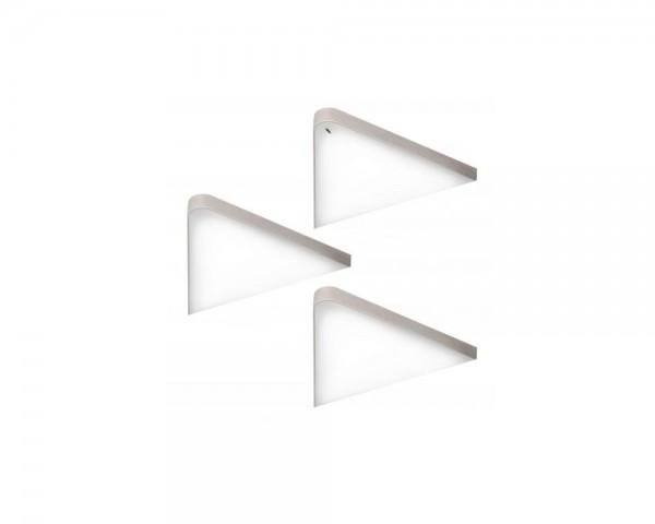 Forma e Funzione LED 3er-Set 421673 Leuchte KEY-T dimmbar warmweiß