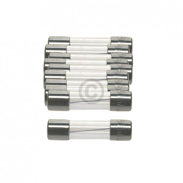 Europart DIN-Sicherung 2,0A träge 5x20mm Feinsicherung 10Stk