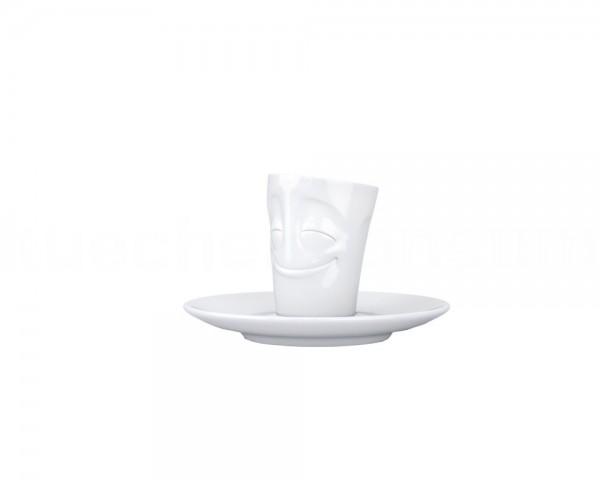 TV Tasse Espresso Mug 12 vergnügt weiß mit Henkel