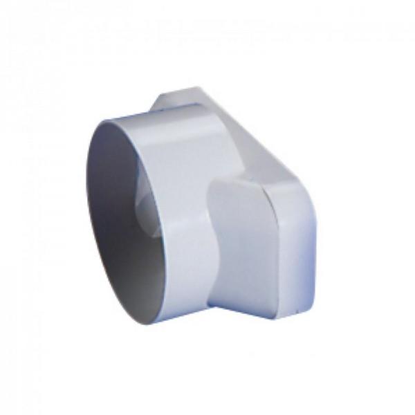 Reduzierstück 125 Soft 650313 auf 100 Rund Kunststoff weiß