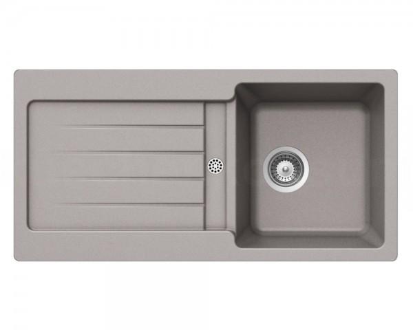 Schock Granitspüle Typos D-100 S ARENA Becken mit Ablage 860 x 435 mm