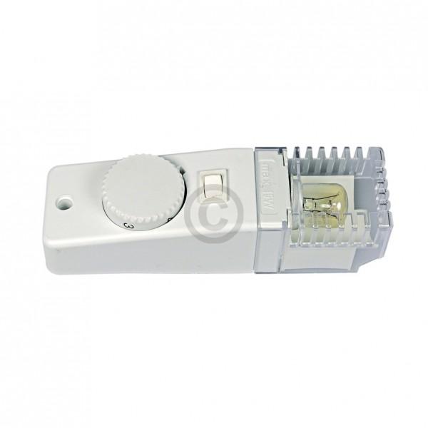 BSH-Gruppe Bedieneinheit SIEMENS 00483602 mit Potentiometer Lampe Thermostatgehäuse für Kühlschrank