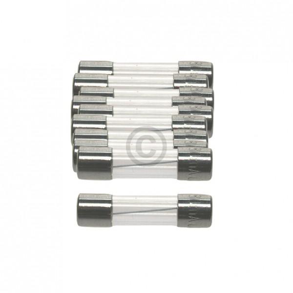 Europart DIN-Sicherung 4,0A träge 5x20mm Feinsicherung 10Stk
