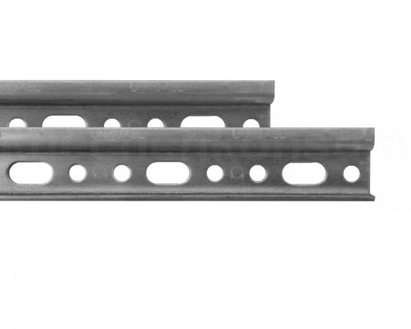 Aufhängeschienen PAAR für Küchen-Hängeschränke 118 cm verzinkt
