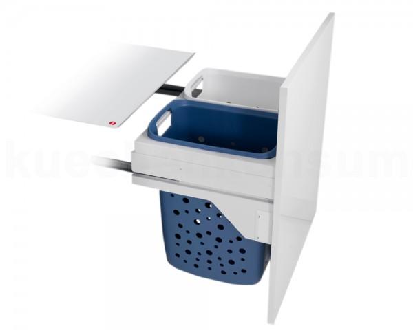 Hailo Wäschesammler 3270691 Laundry Carrier LC Slide SC 66 Liter
