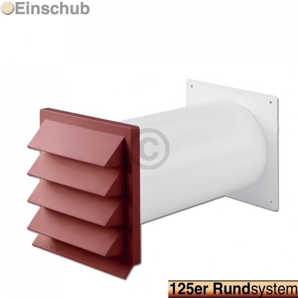 Europart Mauerdurchführung 125erR rot