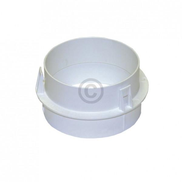 Miele Adapter 6595070 für Anschlussstutzen 100 mm Trockner