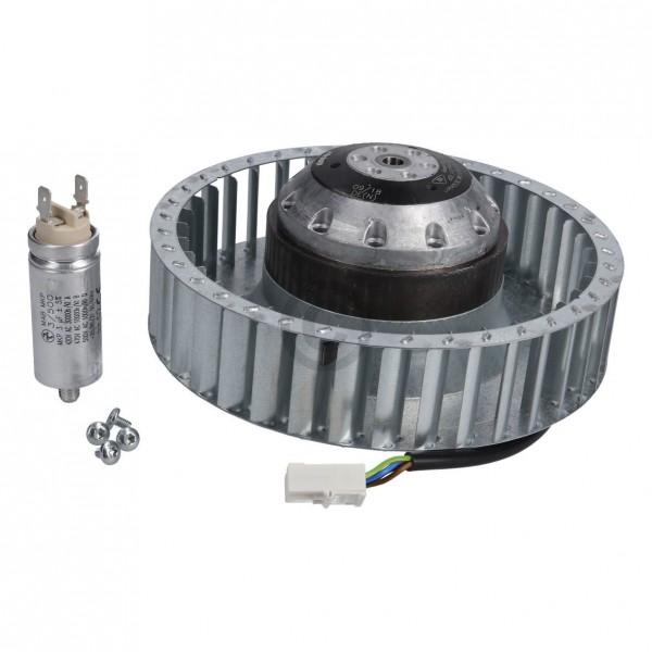 Miele Lüftermotor 9361981 Gebläse mit Kondensator für Trockner
