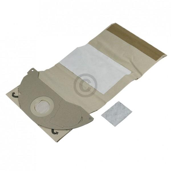 Kärcher Filterbeutel Kärcher 6.904-143.0 u.a. für 2501, 2601 5 Stk