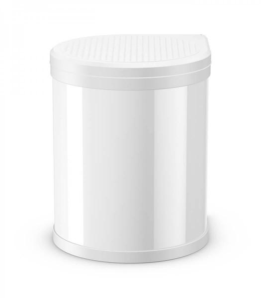 Hailo Abfallsammler 3555-001 Compact-Box 15 Liter weiss