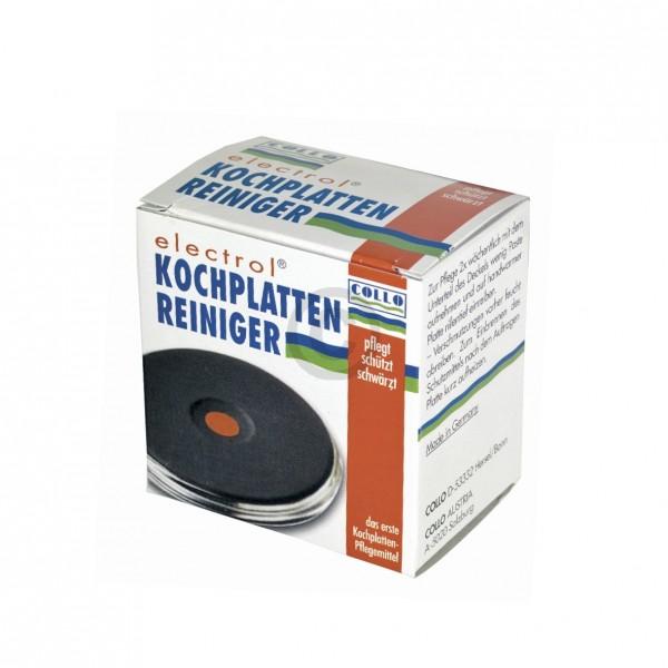 Collo KochplattenReiniger 068 electrol für Gussplatte Massekochplatte Kochfeld Herd 20ml