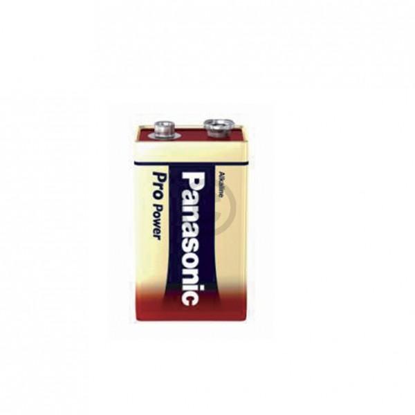 Europart Batterie 9-Volt-Block 6LR61PPG Panasonic