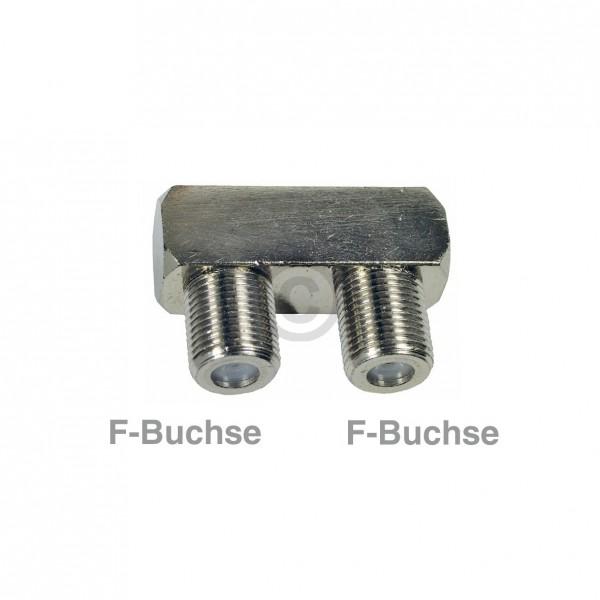 Europart F-Verbinder Buchse/Buchse