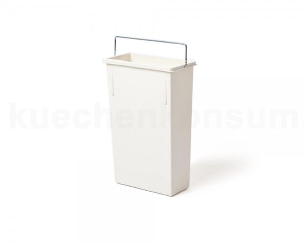 Hailo 7 Liter 1082419 Inneneimer weiß 226 x 115 x 340 mm mit Henkel