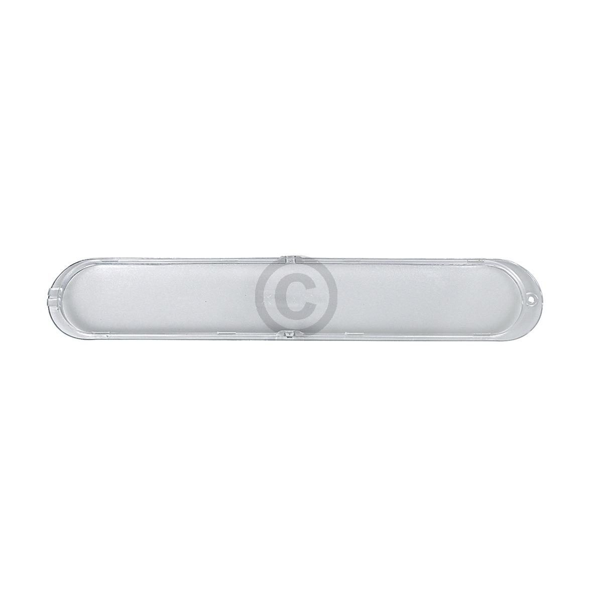 Lampenabdeckung f/ür Dunstabzugshaube 370x65 mm Whirlpool 482000008881