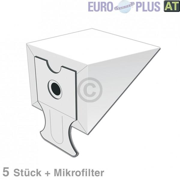 Europart Filterbeutel Europlus P2015SH u.a. für Progress Super 5 Stk