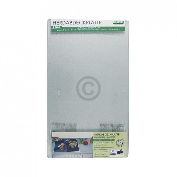 Europart Glasabdeckplatten für Glaskeramikkochfeld 2Stk