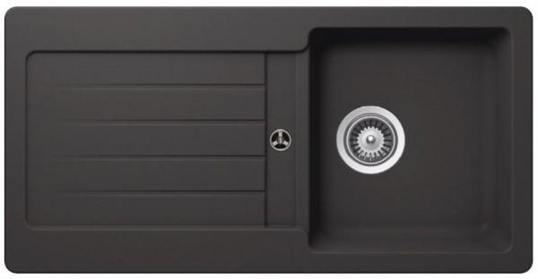 Granitspüle VEL860 GRAU reversibel 860 x 435 mm