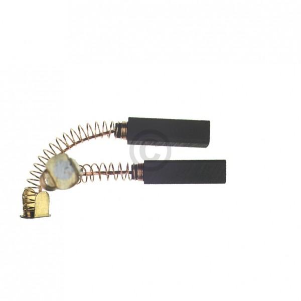 Europart Kohlen 6x6x23mm mit Kabel Feder Teller